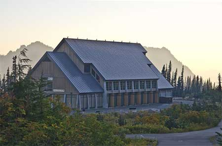 New Henry Jackson Visitor Center at Paradise, Mount Rainier National Park