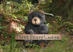 Three Bears Lodge Mascot