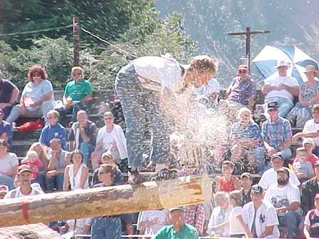 Morton Logger's Jubilee - Springboard Event